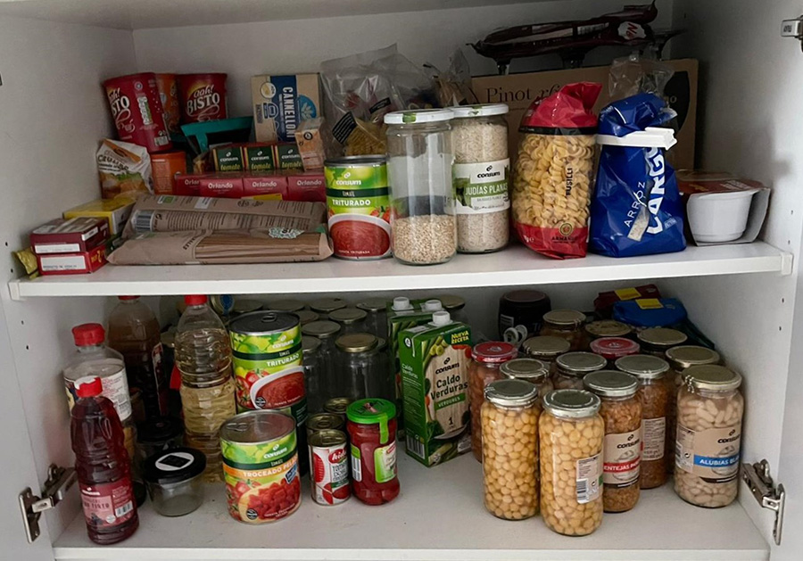 Organizing your cupboard is useful