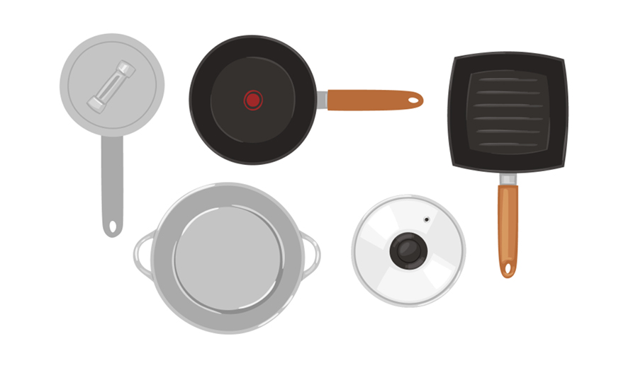 how to organize your cookware
